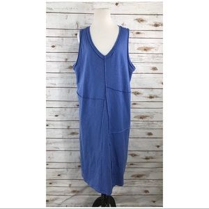Fabulous J Jill Blue Cotton Dress Size XL